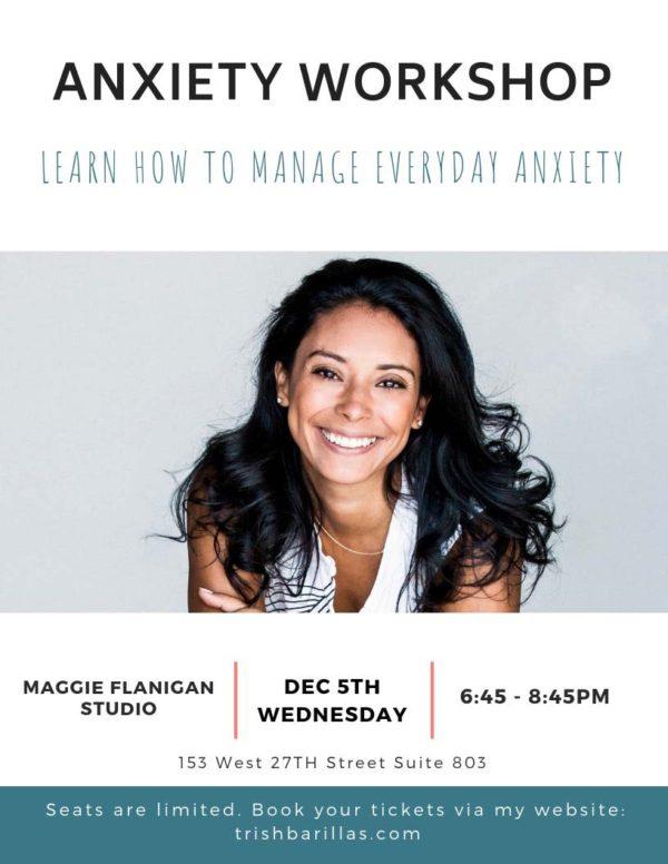 Anxiety Workshop Flyer
